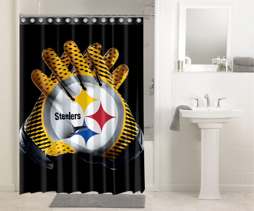 Nfl Steelers Showers 9