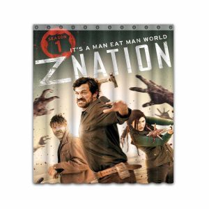 Z Nation TV Show Series #4663 Shower Curtain Waterproof Bathroom