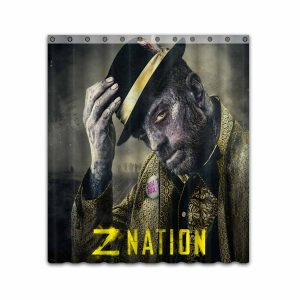 Z Nation TV Show Series #4672 Shower Curtain Waterproof Bathroom