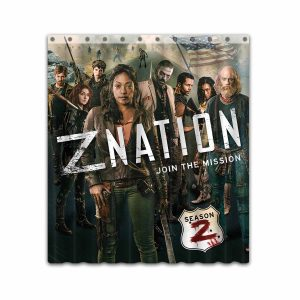 Z Nation TV Show Series #4665 Shower Curtain Waterproof Bathroom