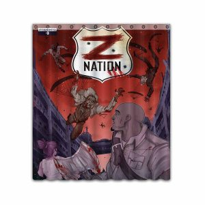 Z Nation TV Show Series #4666 Shower Curtain Waterproof Bathroom