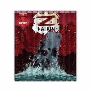 Z Nation TV Show Series #4667 Shower Curtain Waterproof Bathroom