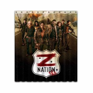 Z Nation TV Show Series #4668 Shower Curtain Waterproof Bathroom