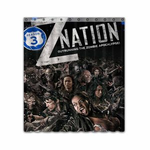 Z Nation TV Show Series #4669 Shower Curtain Waterproof Bathroom