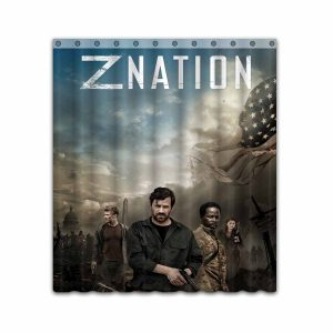 Z Nation TV Show Series #4670 Shower Curtain Waterproof Bathroom