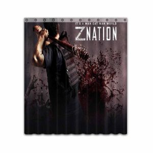 Z Nation TV Show Series #4671 Shower Curtain Waterproof Bathroom