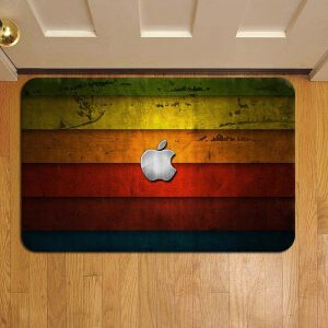 Apple Inc Step Mat Doormat Foot Door Rug
