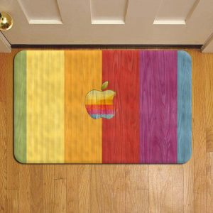 Apple Inc Doormat Foot Rug Door Mat Steps