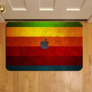 Apple Inc Door Mat Foot Rug Doormat Steps