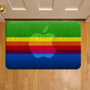 Apple Inc Rug Doormat Foot Door Mat Steps