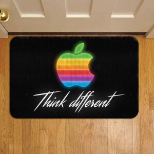 Apple Inc Logo Foot Mat Doormat Rug Door Steps
