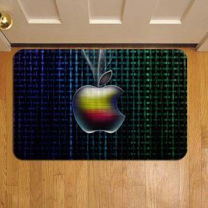 Apple Inc Logo Door Steps Foot Doormat Rug Mat