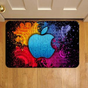 Apple Inc Logo Step Mat Doormat Foot Door Rug