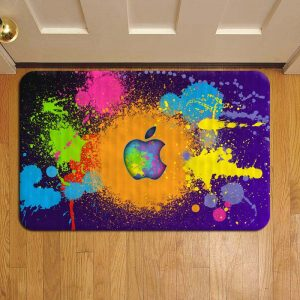 Apple Inc Design Door Mat Foot Rug Doormat Steps