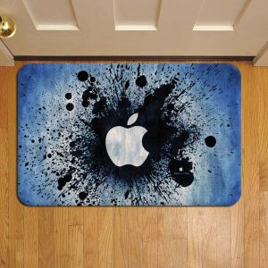 Apple Inc Design Rug Doormat Foot Door Mat Steps