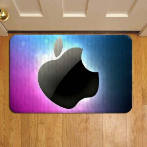 Apple Inc Foot Mat Doormat Rug Door Steps
