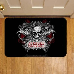 Avenged Sevenfold Door Steps Foot Doormat Rug Mat