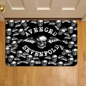 Avenged Sevenfold Doormat Foot Rug Door Mat Steps