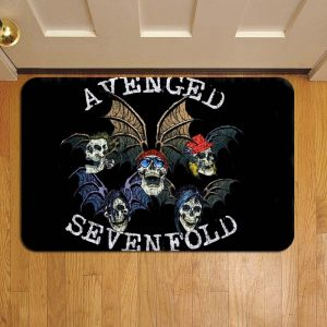 Avenged Sevenfold Rock Band Foot Mat Doormat Rug Door Steps