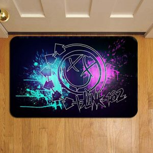 Blink 182 Door Steps Foot Doormat Rug Mat