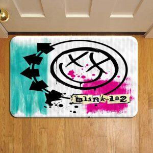 Blink 182 Step Mat Doormat Foot Door Rug Mat