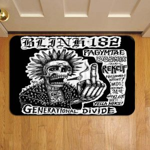 Blink 182 Doormat Foot Rug Door Mat Steps