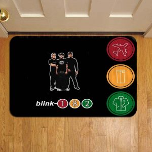 Blink 182 Door Mat Foot Rug Doormat Steps