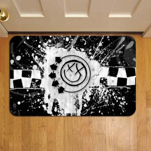 Blink 182 Rock Band Door Steps Foot Doormat Rug Mat