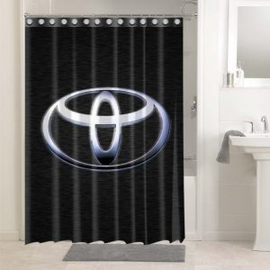 Toyota Shower Curtains Bathroom Decoration Waterproof Polyester Fabric.