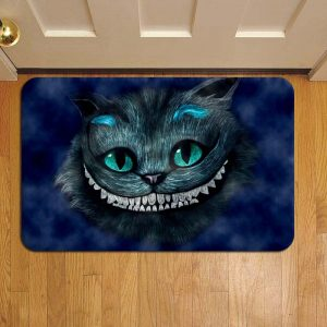 Cheshire Cat Alice In Wonderland Doormat Foot Rug Door Mat Steps