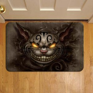 Cheshire Cat Alice In Wonderland Door Mat Foot Rug Doormat Steps