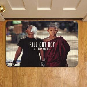 Fall Out Boy Foot Mat Doormat Rug Door Steps