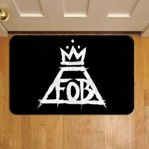 Fall Out Boy Rock Band Doormat Foot Rug Door Mat Steps