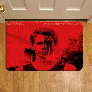 Fall Out Boy Door Steps Foot Doormat Rug Mat