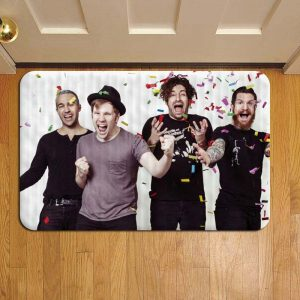 Fall Out Boy Step Mat Doormat Foot Door Rug Mat