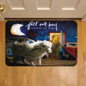 Fall Out Boy Doormat Foot Rug Door Mat Steps