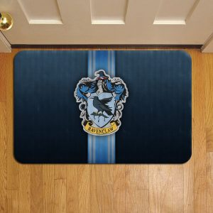 Hogwarts Ravenclaw Crest Harry Potter Rug Doormat Foot Door Mat Steps
