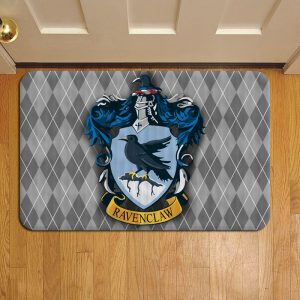 Hogwarts Ravenclaw Crest Harry Potter Foot Mat Doormat Rug Door Steps