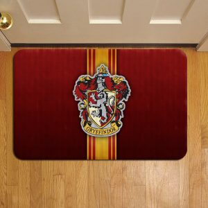 Hogwarts Gryffindor Crest Harry Potter Doormat Foot Rug Door Mat Steps