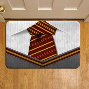 Hogwarts Gryffindor Neck Tie Harry Potter Door Mat Foot Rug Doormat Steps