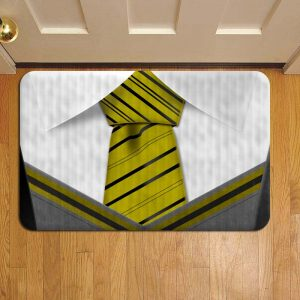 Hogwarts Hufflepuff Neck Tie Harry Potter Rug Doormat Foot Door Mat Steps