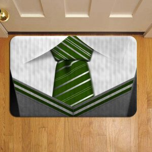 Hogwarts Slytherin Neck Tie Harry Potter Foot Mat Doormat Rug Door Steps