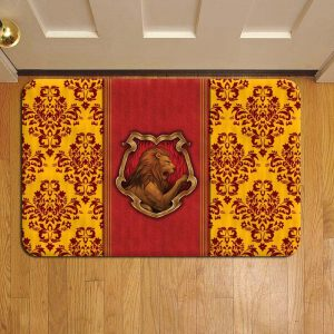 Hogwarts Gryffindor House Harry Potter Foot Mat Doormat Rug Door Steps