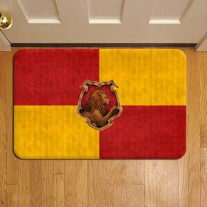 Hogwarts Gryffindor House Harry Potter Door Steps Foot Doormat Rug Mat