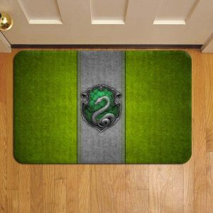 Hogwarts Slytherin House Harry Potter Step Mat Doormat Foot Door Rug Mat