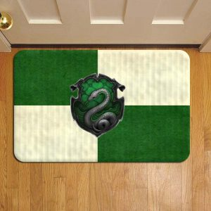 Hogwarts Slytherin House Harry Potter Door Mat Foot Rug Doormat Steps