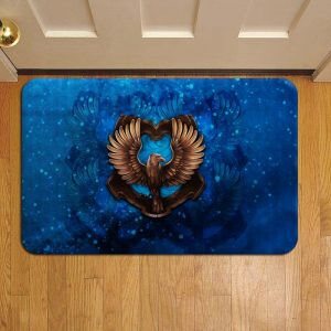 Hogwarts Ravenclaw House Harry Potter Door Steps Foot Doormat Rug Mat