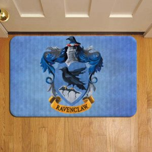 Hogwarts Ravenclaw House Harry Potter Step Mat Doormat Foot Door Rug Mat