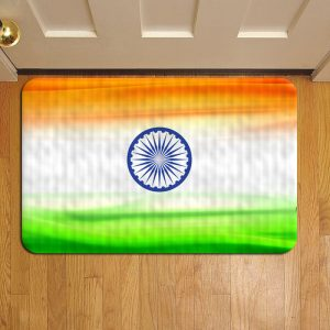 Indian Flag Door Steps Foot Doormat Rug Mat