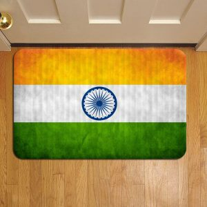 Indian Flag Step Mat Doormat Foot Door Rug Mat